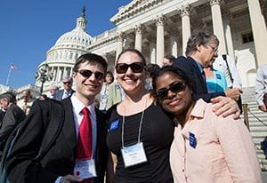 Citizens' Climate Lobby Volunteers on Capitol Hill